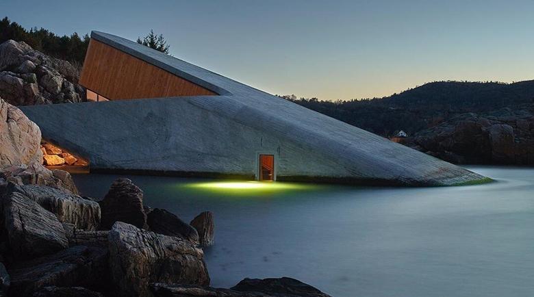 """Подводният ресторант """"Under"""" в Норвегия – няма да повярваш, ако не го видиш"""