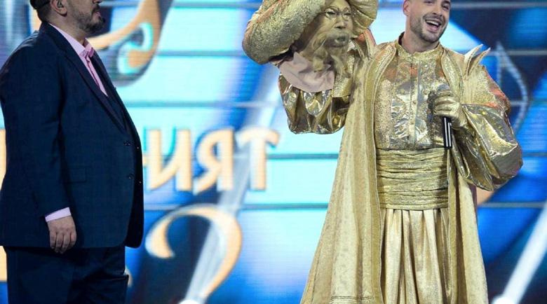 """Митака се криеше под маската на Златния в """"Маскираният певец""""!"""