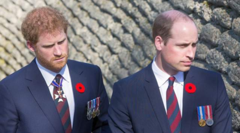 Хари и Уилям с първи думи помежду си на погребението на дядо им