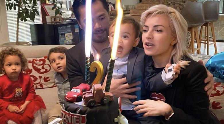 Поли Генова празнува рожден ден на сина си Даниел