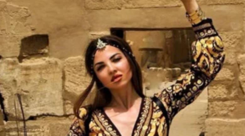 Райна изкушава с екзотични снимки от Египет