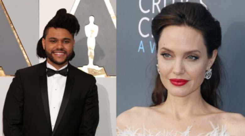 Изненадваща звездна двойка: Анджелина Джоли и рапъра The Weeknd?