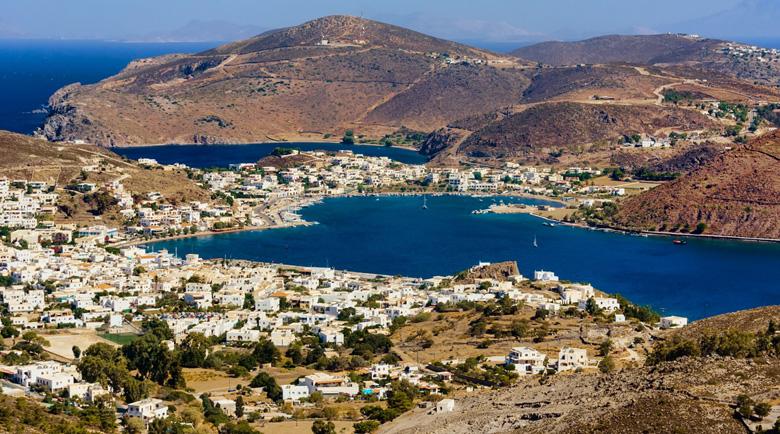 Егейският остров на Апокалипсиса